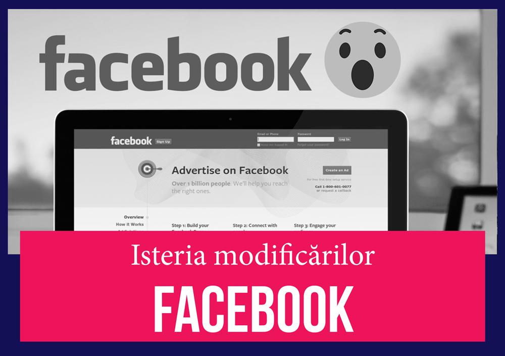 Modificarile anuntate de Facebook